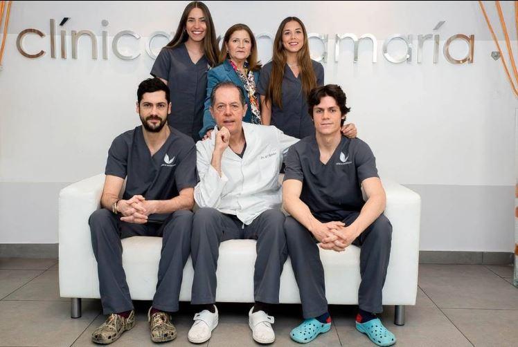 Clínica dental Sanitas en Madrid